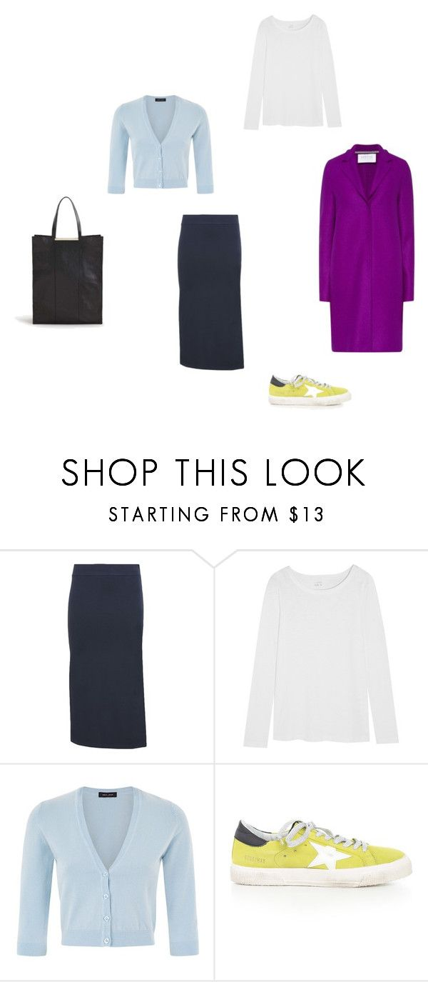 base5 by sashafilippova on Polyvore featuring мода, J.Crew, 8, Golden Goose, MANGO and Harris Wharf London