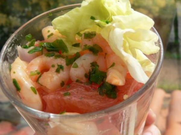 la recette facile pour la valentin : salade californienne