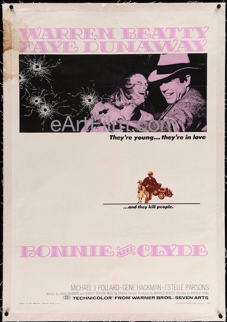 #HappyBirthday #GeneHackman https://eartfilm.com/search?q=gene+hackman #actors #BonnieandClyde #DownhillRacer #ABridgeTooFar #Broadway #theater #movie #movies #poster #posters #film #cinema #movieposter #movieposters    Bonnie and Clyde-1967-27x41-Faye Dunaway-Warren Beatty-Vintage One Sheet | eArt/Film