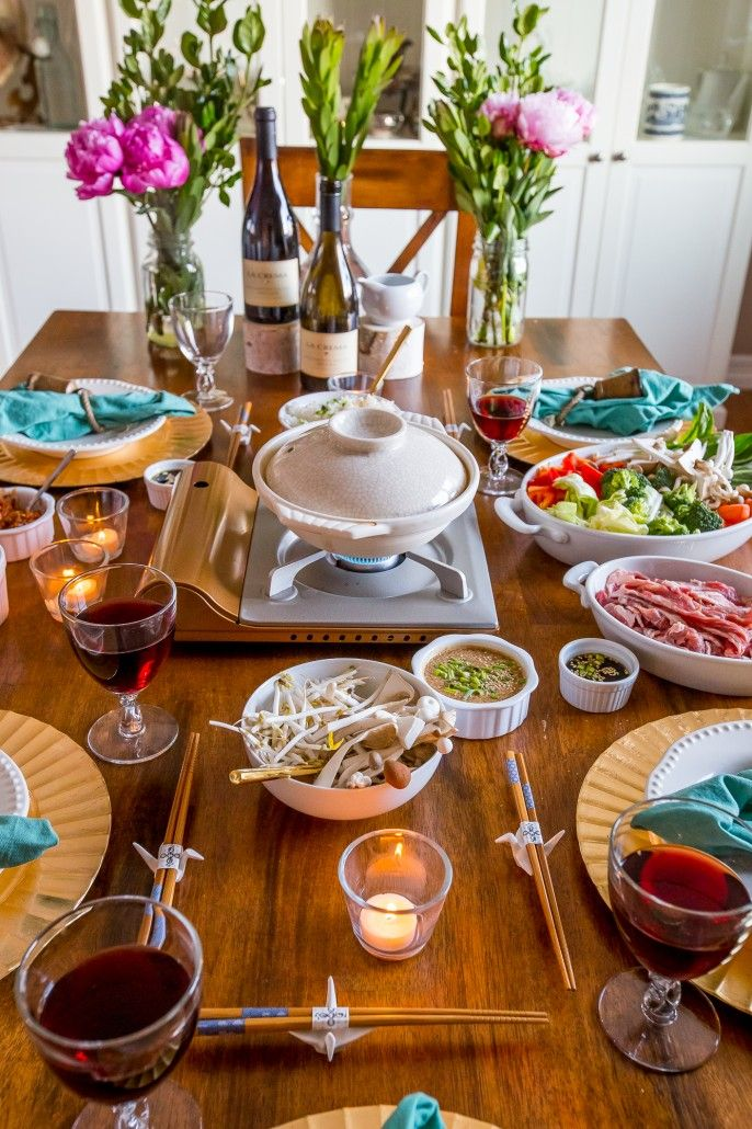 Make dinner fun again with shabu shabu! A delicious Japanese hot pot where you cook your own meats and veggies.