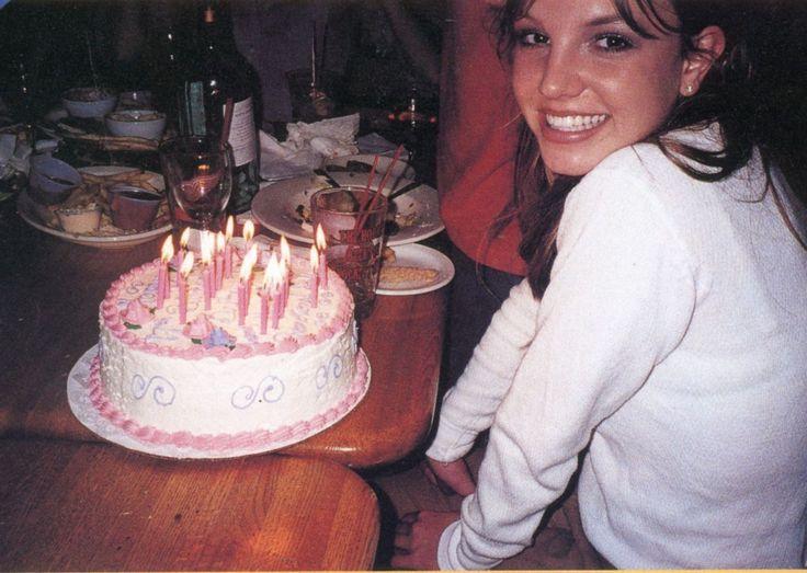 "popculturediedin2009:  "" Britney celebrates her 17th birthday, 1998  """