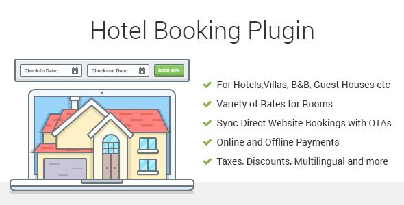 Hotel Booking Property Rental Wordpress Plugin With Images