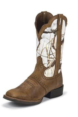 New camo Gypsy boots from Justin - available at Head West Outfitters! $149.95