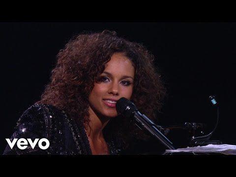 Alicia Keys - Trouble Man (Piano & I: AOL Sessions +1) - YouTube