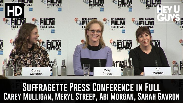 Suffragette Press Conference in Full - What then is our stand on what it means to be a woman?