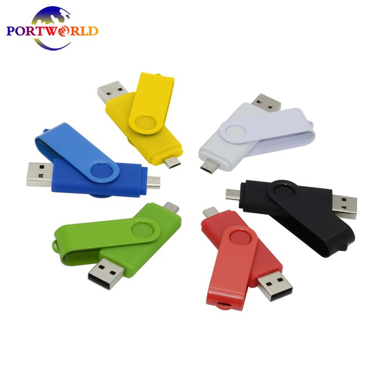 Pen Drive 32GB USB Flash Drive 16GB Dual OTG Micro USB2.0 Memory Stick 8GB for Android Smart Phone