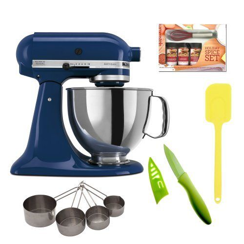 """Look at my new post - Best reviews of KitchenAid KSM150 Artisan 5-Qt. Tilt-Head Stand Mixer (Blue Willow) with Mini Whisk Spice Set + Heavy-Duty Stainless Measuring Cup Set and 3.5"""" Paring Knife with Sheath (Lime Green Big Discount #Blender, #Blenders, #Cuisinart, #HomeKitchen, #KitchenDining, #KitchenAid, #KitchenAid, #KitchenaidMixer, #KitchenaidStandMixer, #Mixer, #SmallAppliances, #StandMixers Follow :   http://howdoigetcheap.com/26371/best-reviews-of-kitchenaid-ksm150-"""