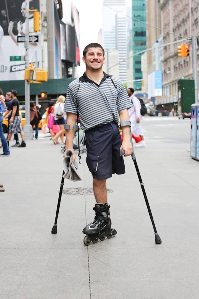 """I knew you'd stop me one day."" - Humans of New York"