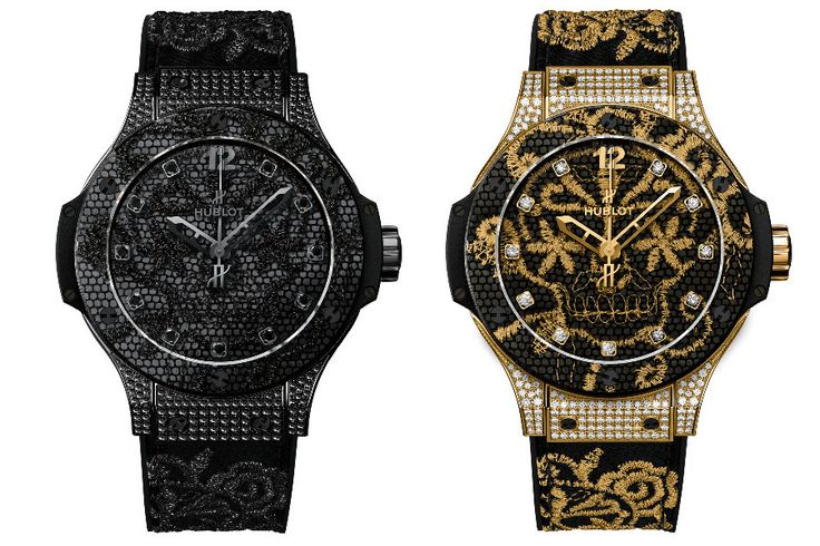 The Hublot Big Bang Broderie combines carefully designed fine embroidery with fine Swiss watchmaking. Handicraft was never more glamourous! http://bit.ly/1dk0XhS