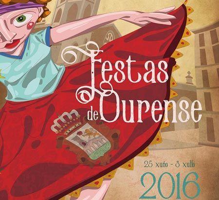 Programa de las Fiestas Ourense 2016. Fiestas del Corpus 2016. Ocio en Galicia | Ocio en Ourense. Agenda de actividades: cine, conciertos, espectaculos