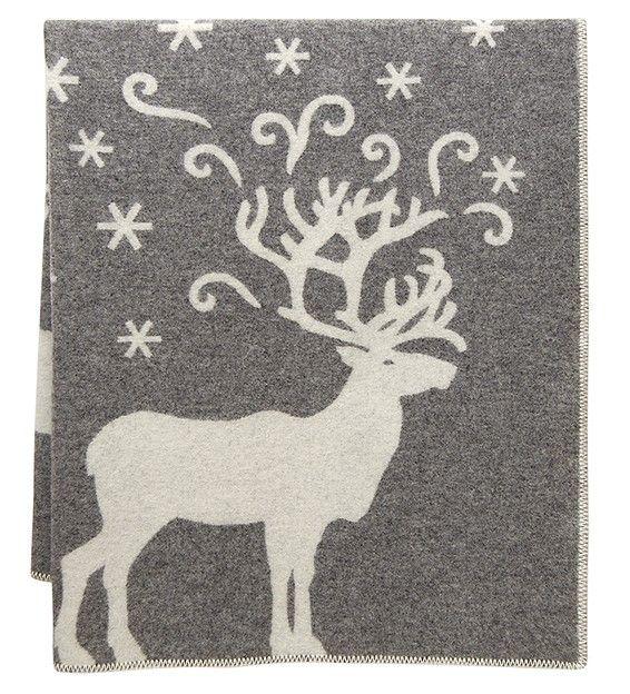VALKKO, wool blanket by Finnish interior company Lapuan Kankurit. Design: Marja Rautiainen. Web shop.