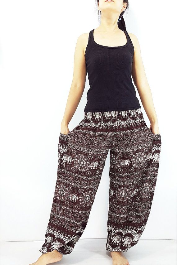 ST99 Women Harem Pants Yoga Pants Aladdin Pants #clothing #women #pants @EtsyMktgTool http://etsy.me/2yiVgiK #clothing #pants #baggy
