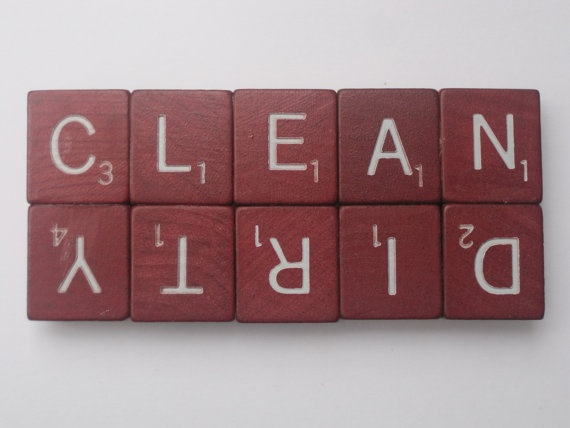 Clean Dirty Dishwasher Magnet - I can make this.