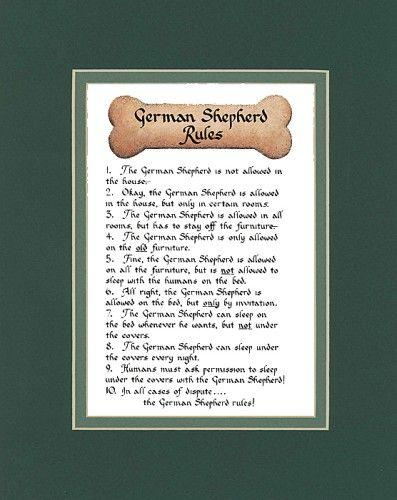 German Shepherd Rules