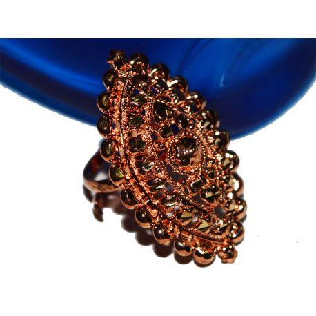Radiant Romance Copper Ring  SKU Code: CJR000205015  Price: INR 80.00  Please stay with us:   http://copperjewelery.com/rings/49-radiant-romance-copper-ring.html  Contact Details:+91-9831232199
