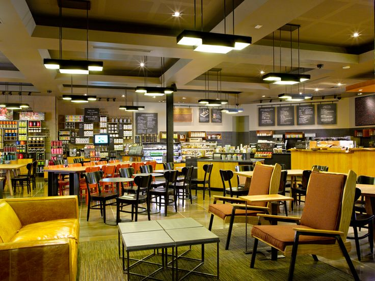 When it came time to renovate the starbucks at seattle s for Furniture u village seattle