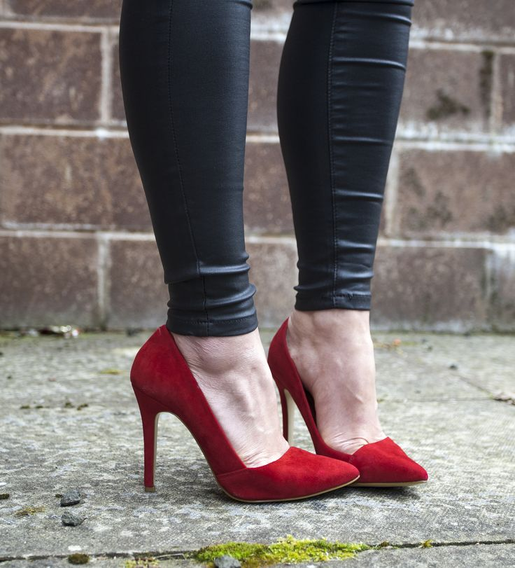 Make a statement in Mega Boo heels.