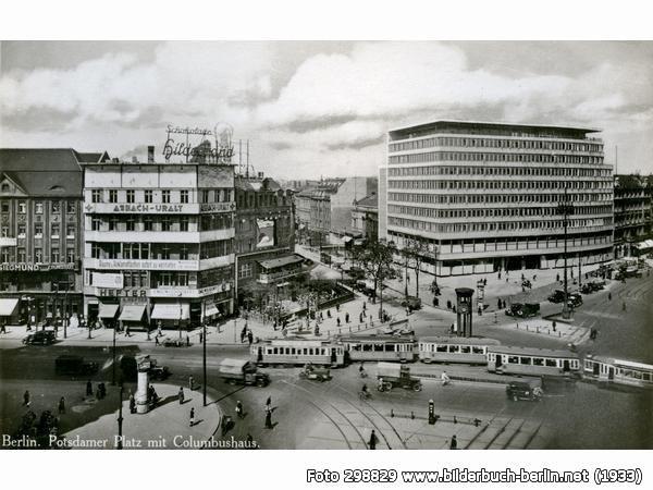 PotsdamerPlatzmitColumbushaus, S-Bhf Potsdamer Platz, 10117 Berlin - Mitte (1933)