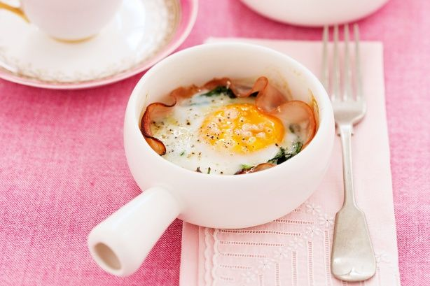 Baked eggs main image