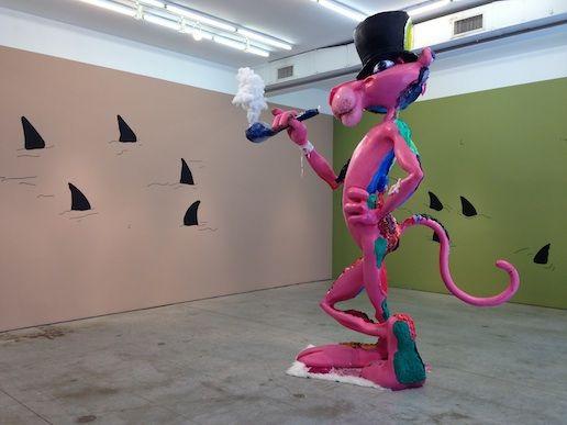 Bjarne Melgaard pink panther at GBE
