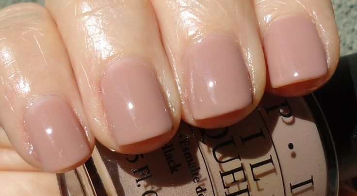 OPI -Tickle My France-y - F16 French Nude Beige Peach Neutral Nail Polish 15ml