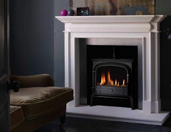 Bloomsbury Gas Stove - Black