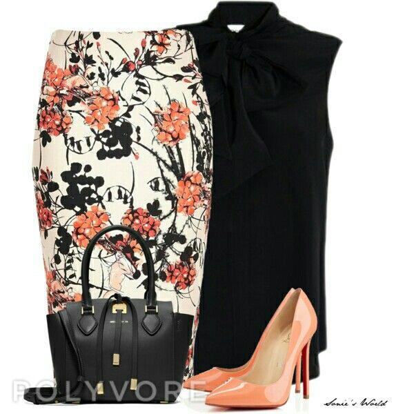 Floral skirt❤