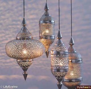 Bildresultat för orientalisk fönsterlampa silver