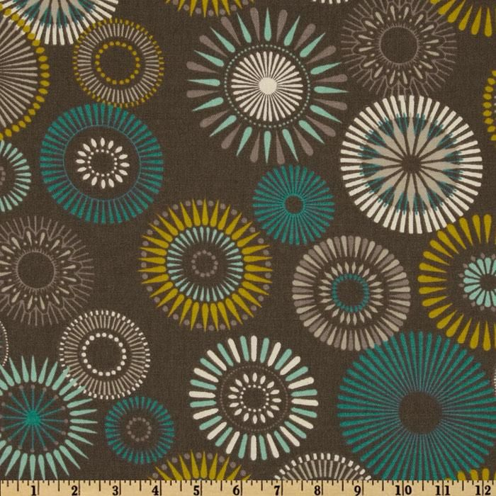 Covington Starburst Pinwheel Grey. Cushion FabricHome Decor ...