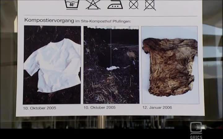 VOS DÉCHETS : UNE MATIÈRE PREMIÈRE - Cette vidéo montre des grandes compagnies (Nike, Ford) et des plus petites (Herman Miller, Rohner Textile) qui expérimentent des méthodes de production propres et durables, selon le principe : déchets = matière première.
