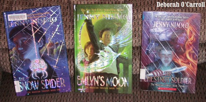 Series review: The Magician Trilogy (The Snow Spider, Emlyn's Moon, The Chestnut Soldier) by Jenny Nimmo