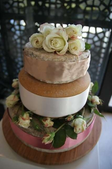 From The [Milawa] Cheese Shop... the perfect wedding confection for cheese lovers?