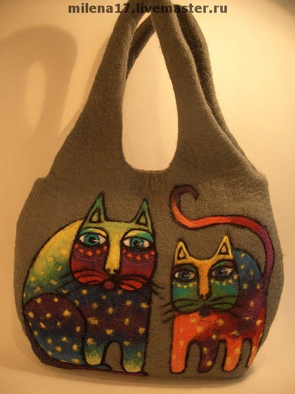 felted artbag by Yelena Makarova