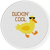 Duckin' Cool Cross Stitch Pattern