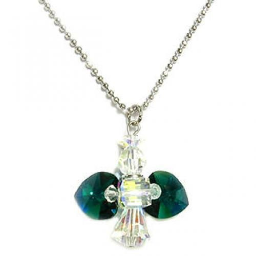 `My Little Angel` May Birthstone Necklace - Emerald