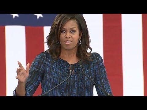 Michelle Obama did some campaigning in Philadelphia Wednesday for Hillary Clinton. The first lady criticized Donald Trump's debate performance, and his attac...