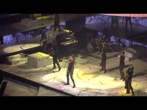 Rihanna  Diamonds world tour Buffalo NY (Part 1 of Rihanna ) 2013