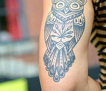 Inspiring picture tatoo, cool, owl, tattoo, fashion, photography, style. Resolution: 400x554. Find the picture to your taste!