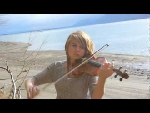 ▶ Promentory (Last of the Mohicans Theme) on Violin - Taylor Davis - YouTube  filmed in Wyoming