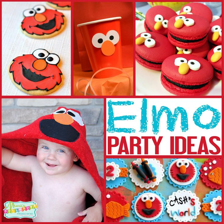 Sesame Street Party: Ideas for an Elmo Party. Thinking of diving into Elmo's World? Today I am sharing some awesome Elmo Party Ideas.Be sure to check out all our Sesame Street Parties and Ideas. ...