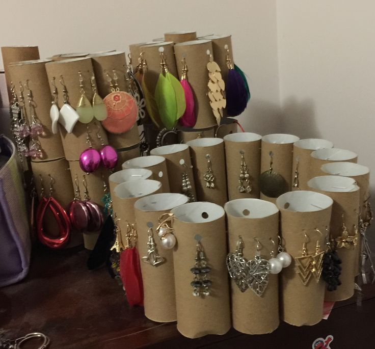 My Diy earring stand