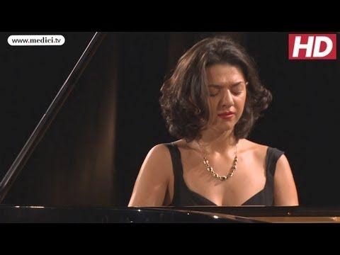 Khatia Buniatishvili - Liszt / Schubert Ständchen - Verbier Festival - YouTube