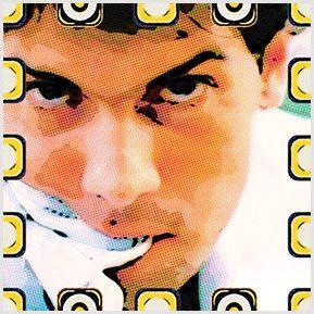 Cazuza - Quadrinhos confeccionados em Azulejo no tamanho 15x15 cm.Tem um ganchinho no verso para fixar na parede. Inspirados em cantores e compositores brasileiros. Para entrar em contato conosco, acesse: www.babadocerto.com.br