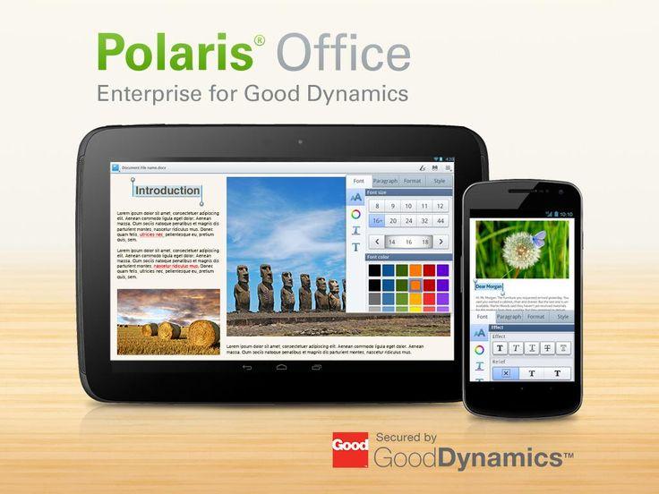 Polaris Office for Good v2.0.10  Miércoles 6 de Enero 2016.Por: Yomar Gonzalez | AndroidfastApk  Polaris Office for Good v2.0.10 Requisitos: 4.0 y arriba Información general: Oficina POLARIS for Good es una aplicación empresarial y no significaba para uso del consumidor. Esta aplicación requiere que los servidores buena dinámica se configuran en la organización de TI de su empresa. Infraware no proporciona la clave de acceso para los usuarios de consumo.Polaris Office for Good es una…