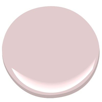"Barely there pink - nice if you don't want your nursery to be too ""girly"". Use soft greens, pale gray or just a touch of yellow to go with it."