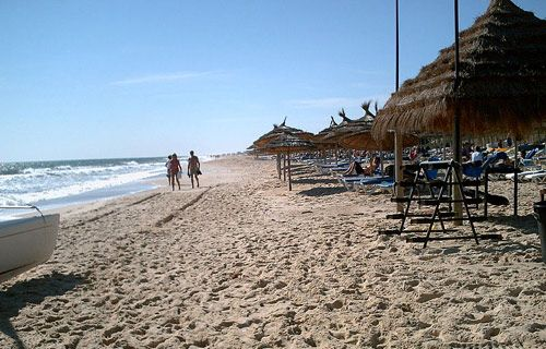 Where to go on holiday in August | Hammamet Yasmine, Tunisia | http://www.weather2travel.com/holidays/where-to-go-on-holiday-in-august-for-the-best-hot-and-sunny-weather.php #travel #holidays
