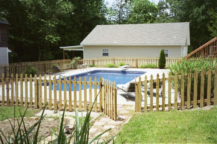 17 best images about house ideas on pinterest paint colors gray and benjamin moore for How to build a swimming pool fence