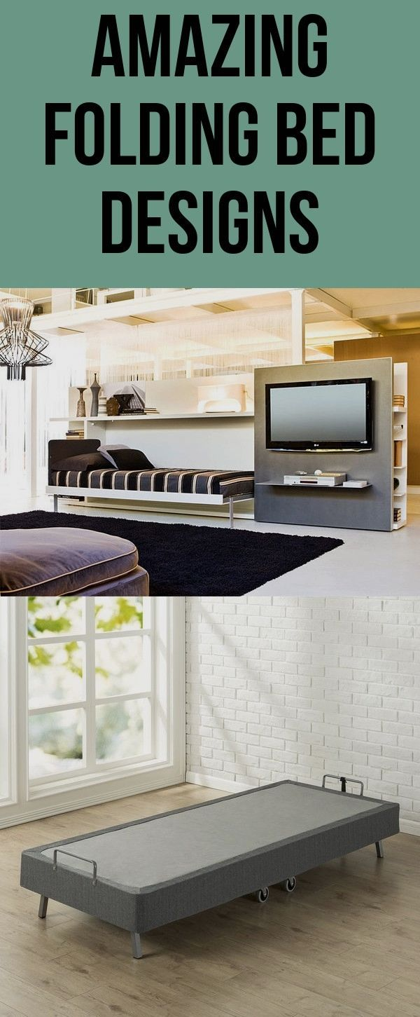 Rational And Versatile Folding Bed Designs For Your Home Bed Design Folding Beds Home