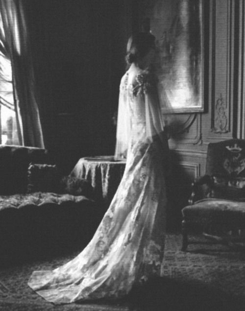 valentino haute couture autumn/winter 2011-2012 shot by deborah turbeville for vogue italia
