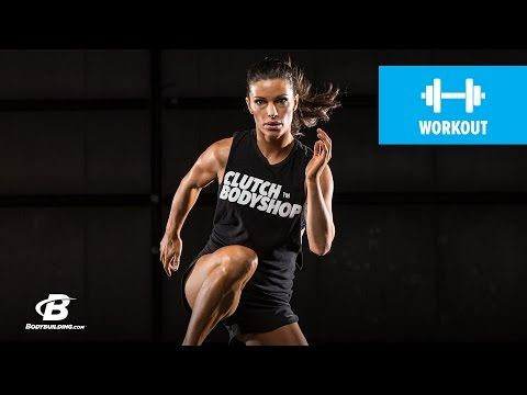 Day 2 | At Home Cardio and Core Workout | Clutch Life: Ashley Conrad's 24/7 Fitness Trainer - YouTube